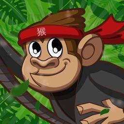 Rope Hanger: Monkey Ninja