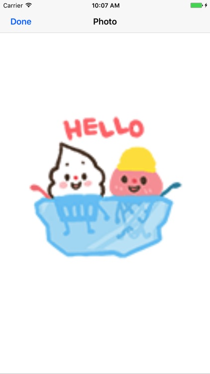 Animation Custard Cake Sticker