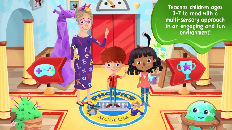 Phonics Museum - Learn to Read
