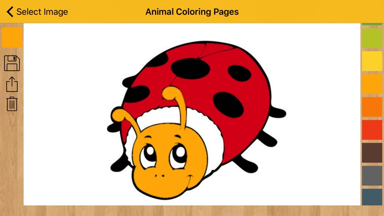 Animal Coloring Pages - Coloring book with animals screenshot-4