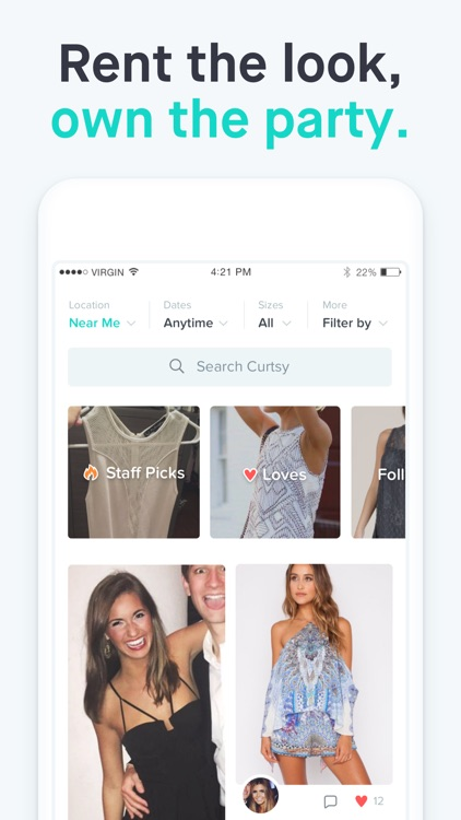 Curtsy — rent clothes from women in your city