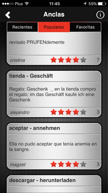 Speeq Spanish | German screenshot-4