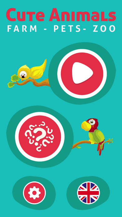 Cute Animals - Learn Animal Sounds, Noises & Names screenshot four