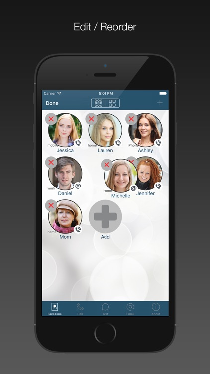 FaceDial PRO for FaceTime, Call, Text Photo Dialer screenshot-3