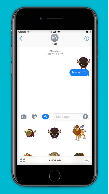 BuffaloMix - Buffalo Cool Emoji And Stickers