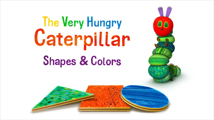 Very Hungry Caterpillar Shapes screenshot-0