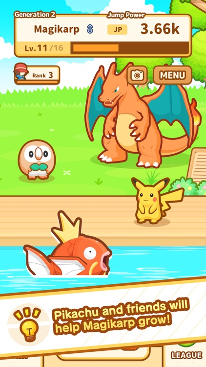 Pokémon: Magikarp Jump screenshot-4