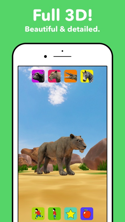 Zebra Safari Animals - Kids Game for 1-8 years old screenshot-2