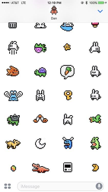 Run Jump Die Stickers