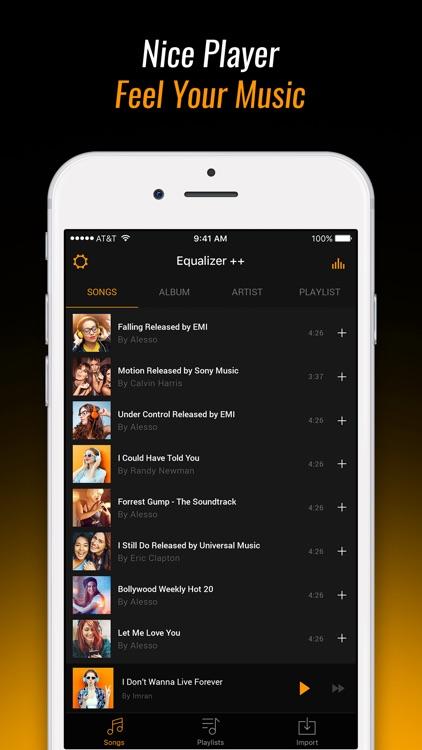 Equalizer Fx: Bass Booster App screenshot-4