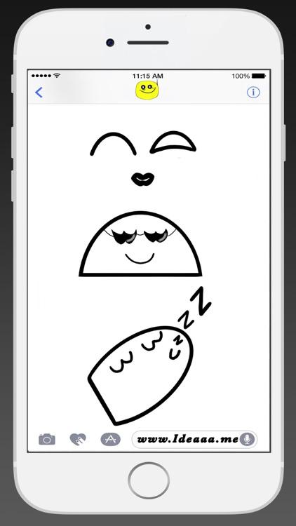 Ideaaa stickers:great day screenshot-3