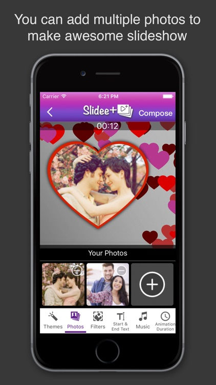 Slidee+ Slideshow Movie Maker & Editor with Music screenshot-0