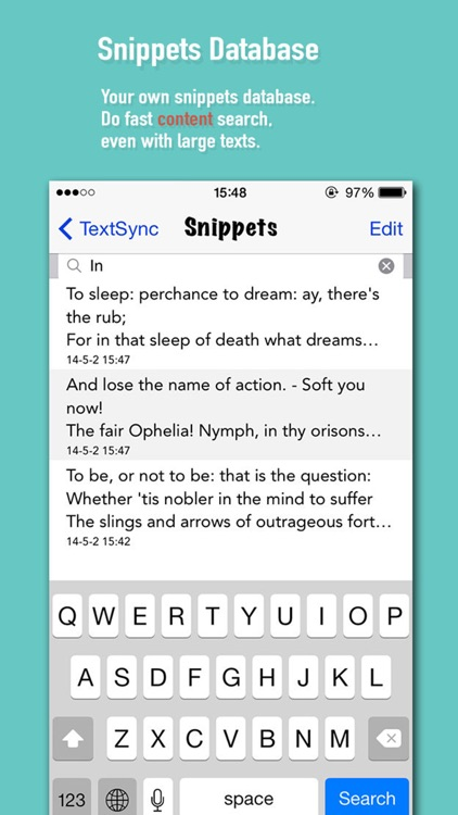 Snippets - quick notes & super clipboard