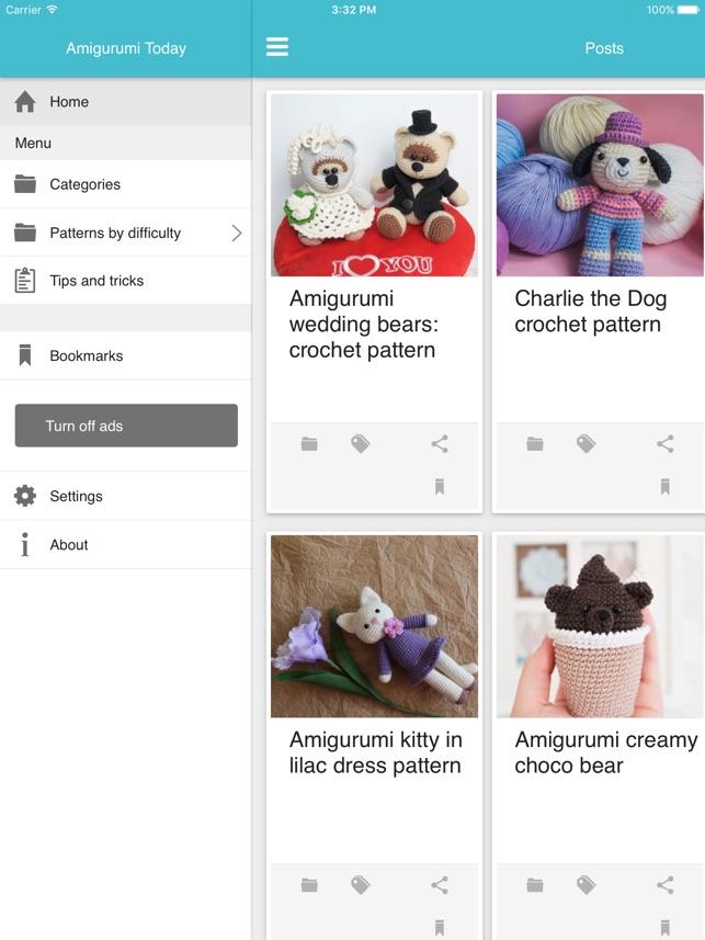 Amigurumi creamy choco bear | Crochet patterns, Free crochet ... | 857x643