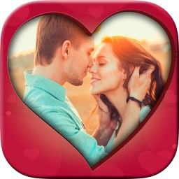 New romantic love photo frames - Photo editor
