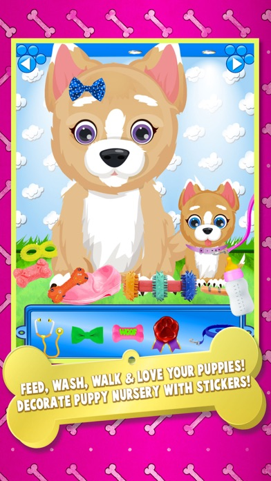 download Newborn Puppy Baby & Mommy Dog Pregnancy Pets Game apps 0