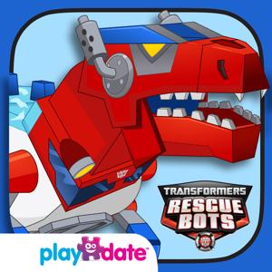Transformers Rescue Bots: Dino Island app