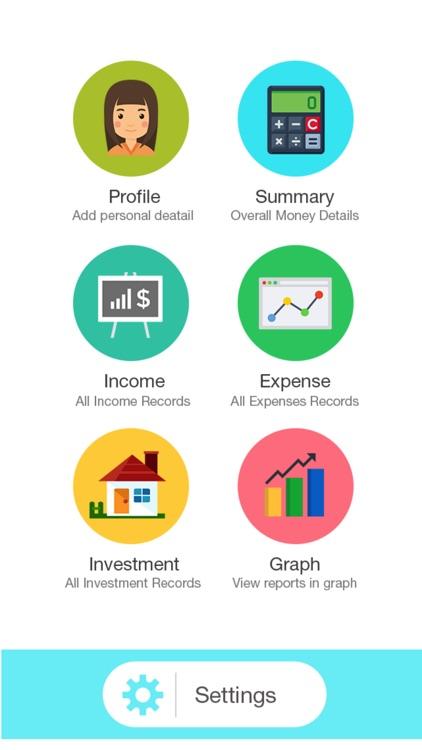 Daily Income Expense Tracker & Currency Calculate