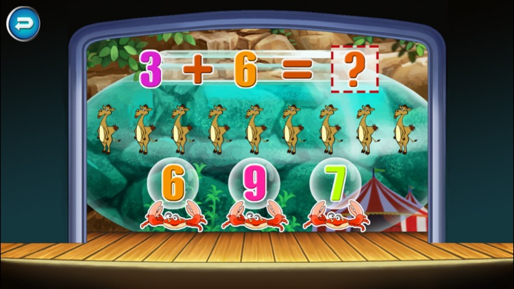 Circus Math School- Toddler & Kids Learning Games screenshot-3