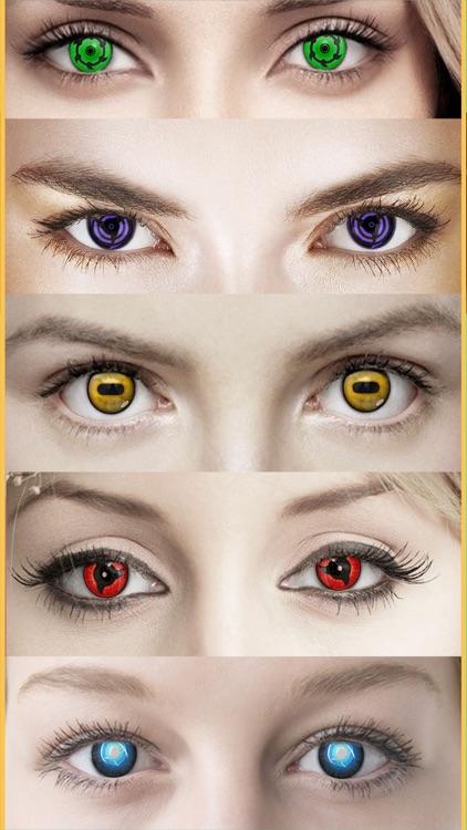 Anime Eye.s Contact.s Changer For Naruto Shippuden