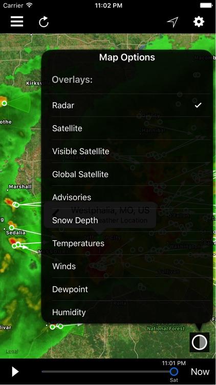 NOAA Radar Plus screenshot-4