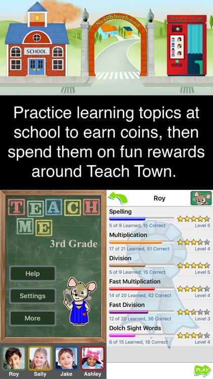 TeachMe: 3rd Grade screenshot-0