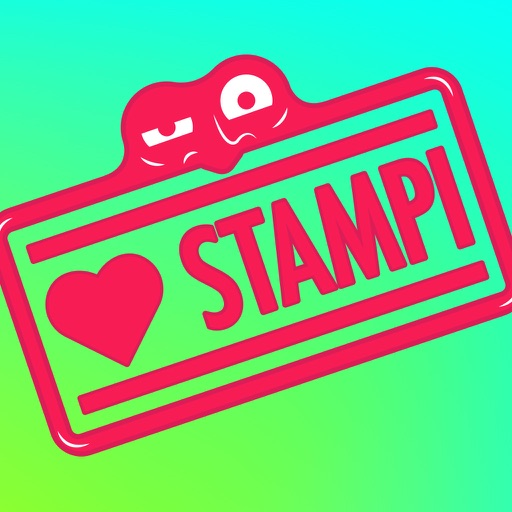 Stampi the Stamp - stickers