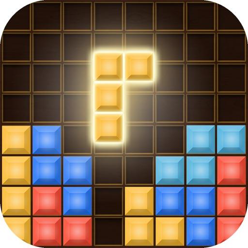 Блок головоломка: кирпич классический