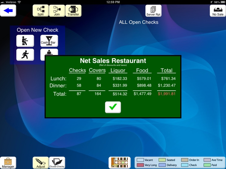 AcclaimPOS screenshot-4