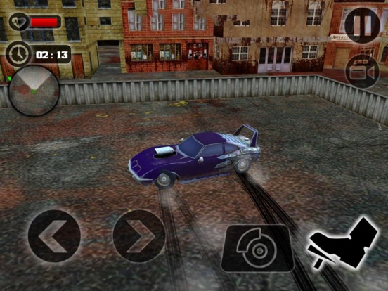 Crazy Car Crush Zombie screenshot 4