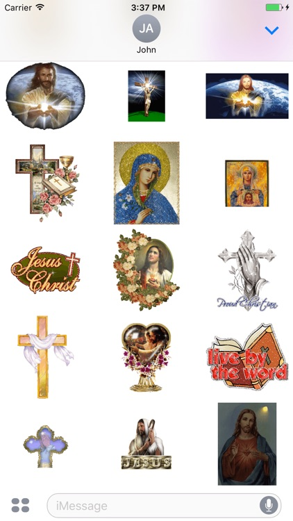 Animated Jesus Christ GIF Stickers