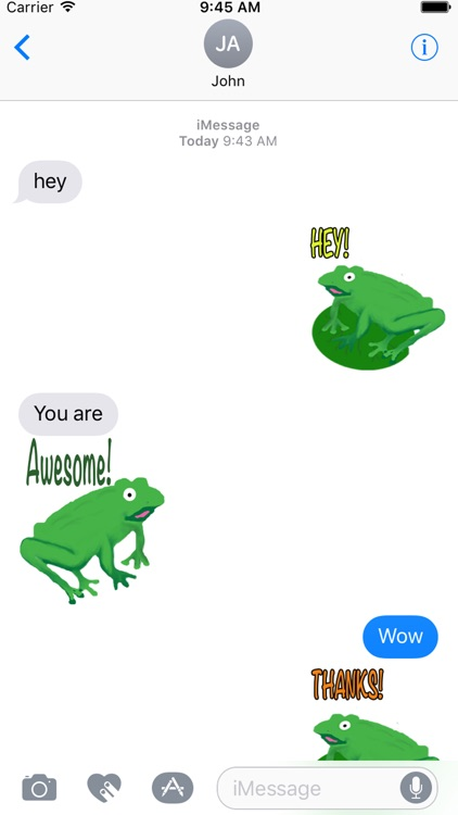 Frogs Alive Stickers