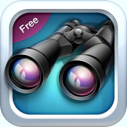 Binoculars FREE - Easily Super-Zoom Your Camera