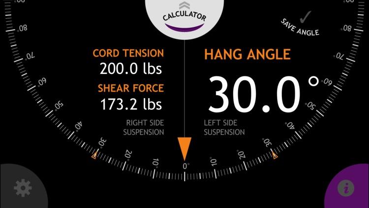 Hammock Hang Calculator screenshot-3