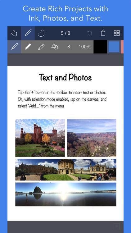Noteflow Digital Notebook screenshot-4