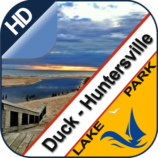 Duck & Huntersville offline for lake & park trails