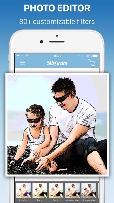 Pic Frames - Mixgram Editor for Windows