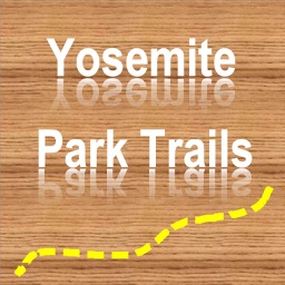 Trails of Yosemite NP - GPS Topo Maps for Hiking