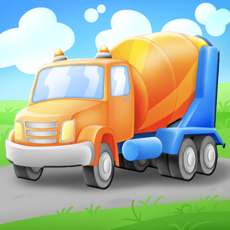 Activities of Trucks and Things That Go Vehicles Puzzle Game