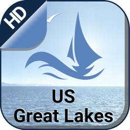 US Great Lakes Nautical Chart Map GPS for Boaters