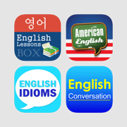 Learning English Series for Korean - Excellent courses lessons with interactive UI