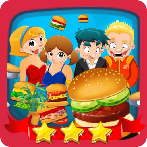 Cooking Burger Restaurant games maker humburger iOS App