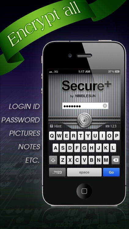 Secure+ password manager