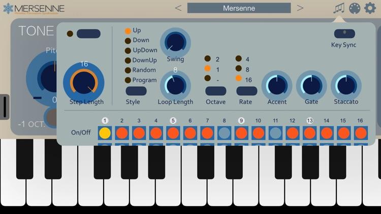 Mersenne Synthesizer screenshot-3