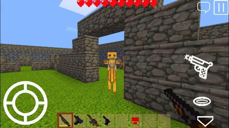 Pixel Block Gun 3D screenshot-4