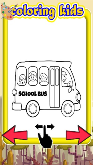 Drawing Games Coloring School Bus Education On The App Store