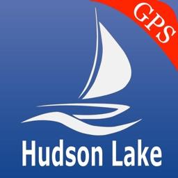 Hudson lake GPS nautical charts