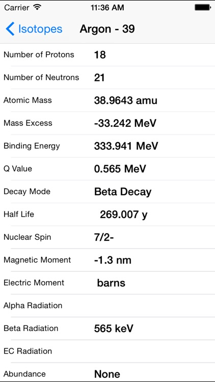 Atoms To Go Periodic Table of the Elements screenshot-3