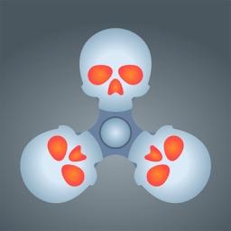 Skull Fidget Spinner Simulator PRO