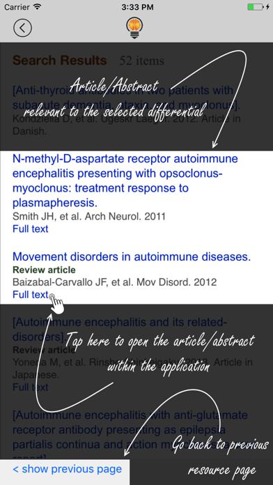 Neurology Dx screenshot four